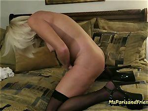 Ms Paris Rose in hardcore poking