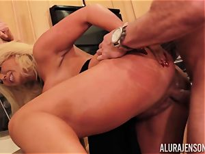Alura Jenson gets pounded by ginormous muscle man Zeb Atlas