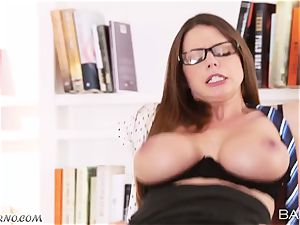 Dear manager, you should watch the quarterly report and my hefty udders