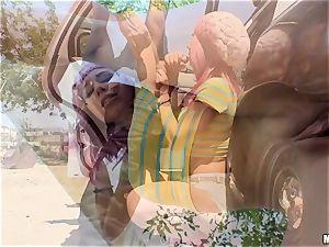 insatiable Aidra Fox gash wedged nads deep by policeman