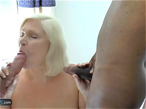 AgedLovE Lacey Starr couple trouser snake inhaling And hard-core