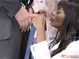 spectacular Ana Foxx has super-hot steaming fucky-fucky with Charles Dera