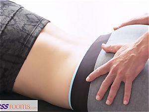 FitnessRooms filthy yoga schoolteacher super-sexy sport model
