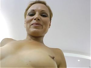 natural sweetie getting plunged by Rocco Siffredi