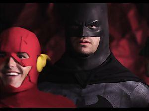 Justice League gonzo part five - Hero intercourse with Romi Rain