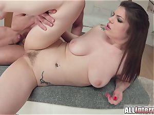 Allinternal dark-haired tastes her rectal internal ejaculation