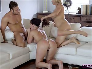 Brittany Shae - My mom's new lover wants to shag me