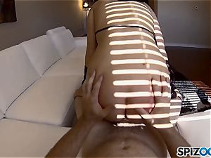 PornGoesPro - Maddy O'Reilly is penalized by a yam-sized dick