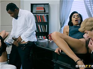 Charles Dera and Cherie Deville 4some