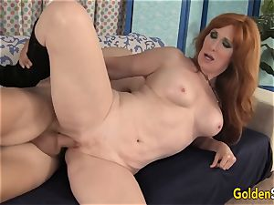 Mature sandy-haired Freya Fantasia Is pounded